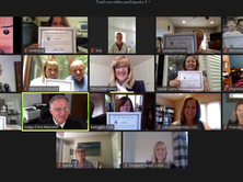 Congratulations to Our First Virtual Training Class!